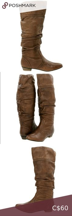 Steve Madden Slouchy Candence Boot Steve Madden Slouchy Candence Boot  Size 7   Adorable slouchy boots that look great with shorts or over leggings or skinny jeans. Can be worn pulled up a bit with less slouchiness or scrunched down for maximum slouchiness.   Great used condition. I bought these boots with a mark on the leather. They were the last pair and I liked them THAT much. Steve Madden Shoes Heeled Boots Steve Madden Black Boots, Steve Madden Heels, Madden Shoes, Marc Jacobs Hobo Bag, Steve Brown, Lace Booties, Slouchy Boots, Leather Heeled Boots, Grey Boots
