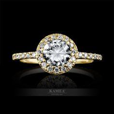 Exkluzívny zásnubný prsteň z bieleho 14 karátového zlata, osadený swarovski zirkónmi. Možnosť vyhotovenia v žiarivom bielom zlate, v klasickom žltom zlate a v romantickom červenom zlate, v zirkónovej aj v diamantovej verzii. V zásnubnom prsteni je vsadený 1 kameň o priemere 5,5mm a 28 kameňov o priemere 1,1mm. Heart Ring, Swarovski, Engagement Rings, Jewelry, Enagement Rings, Wedding Rings, Jewlery, Jewerly, Schmuck