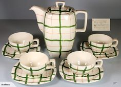 MIDWINTER STYLECRAFT COFFEE SET - I love everything about this!