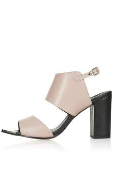 RAFF Metal Toe Sandals - Heels - Shoes - Topshop