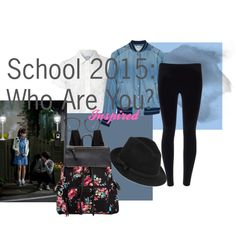 School 2015: Who Are You? by ricardoshoyo on Polyvore featuring Glamorous, Diesel, Madden Girl, RED Valentino, Linda Farrow, korean, kdrama, whoareyou and school2015