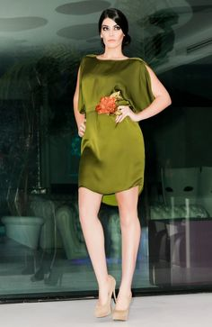 Vestido verde By Shapó Olé | Shapó Olé