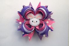 Easter Hair Bow by TheSweetBCollection