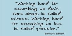 quotes about passion and work