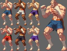 SAGAT KOFXII Style by KO-KI on DeviantArt