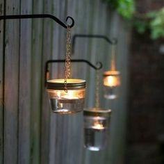 Candles and lighting on pinterest candles string lights - Cheap outdoor lighting ideas ...