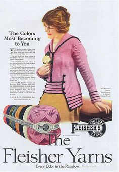 "Fleisher Yarns, 1919  From Taschen's ""All-American Ads 1900-1919""."
