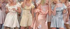 Meadham Kirchhoff s/s 2012 - kinderwhore satin babydoll dress Banquet dresses 2020 Princess Aesthetic, Pink Aesthetic, Aesthetic Clothes, Moda Ulzzang, Meadham Kirchhoff, Grunge, Mode Chanel, Dress Up, Babydoll Dress