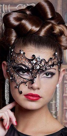 Masquerade Half face Mask Halloween Metal Mask Asymmetric Mask with Rhinestones Step Up 4 Miami Heat Mask Mascarade Mask, Mascarade Makeup, Carnival Festival, Half Face Mask, Masquerade Party, Masquerade Masks, Beautiful Mask, Amanda, Halloween Face Makeup