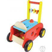 """Un chariot de marche avec une boîte à formes intégrée. Les graines de pilote pourront même s'en servir de """"premier porteur""""."""