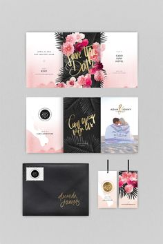 IN PORTFOLIO: CABO BOHO CHIC WEDDING STATIONARY