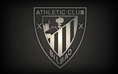 Athletic Bilbao Logo Sport Black HD Wallpaper Desktop #9986546 Wallpaper