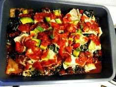 Chicken Taco Casserole (Low Carb and Diabetic)