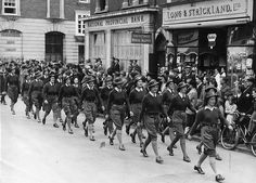 """The Women's Land Army on parage in Bognor Regis on the 10th of June 1944."""