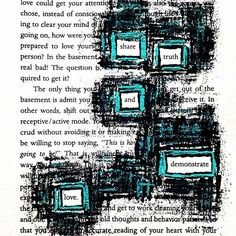 Raise The Bar: Make Blackout Poetry Blackout Poetry Poetry Poetry Art, Poetry Quotes, Quotes Quotes, Story Quotes, Book Page Art, Book Pages, Erasure Poetry, Altered Books Pages, Found Poetry