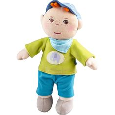 "HABA Snug up Jonas - 11.5"" Soft Boy Baby Doll with Embroidered Face - Machine Washable for Babies 6 Months ** Details can be found by clicking on the image. (This is an affiliate link)"