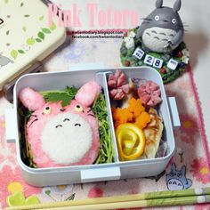 posted by @kwbentodiary #totoro #kwbentodiary #obentoart #lunch #bento