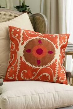 Ottoman Pillow - Ottoman Style Pillows, Sofa Pillows, Couch Pillows, Turkish Pillows | Soft Surroundings