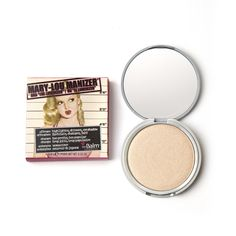 theBalm Mary-Lou Manizer Highlighter, Shadow and Shimmer - Brown, g Mascara, Eyeliner, Eyeshadow, Skin Care Routine For Teens, Skin Routine, Drugstore Highlighter, Bronzer, Luminizer, Contour