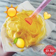 Yepyeni bir haftaya başlarken serinletici keyif: Limonlu gelato!