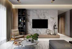 7 veces he visto estas magníficas muebles minimalistas. Apartment Interior, Living Room Interior, Home Living Room, Living Room Decor, Home Room Design, House Design, Tv Wall Design, Design Design, Interior Design