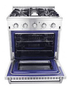 Thor Kitchen Freestanding Professional Style Gas Range with cu. Gas Wall Oven, Gas Oven, Stove Oven, Thor, Kitchen On A Budget, Kitchen Ideas, Oven Range, Updated Kitchen, Dreams