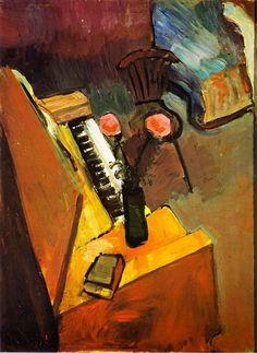 Henri Matisse | Interior with Harmonium 1900