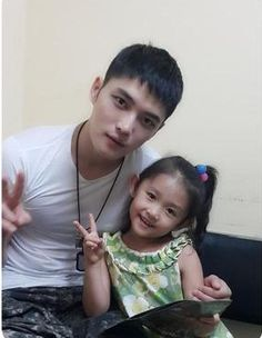 Kim Jaejoong 김 재중 (And His beautiful niece)