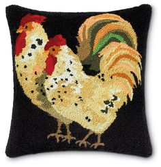 5541: Rooster Pillow (Product Detail)