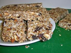 The Deckers: Homemade Healthy Granola Bars
