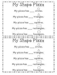 my pizza recipe preschool day care kids pinterest literacy worksheets and students. Black Bedroom Furniture Sets. Home Design Ideas