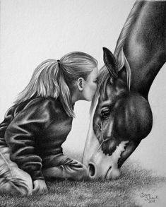 Realistic and life like pencil drawings of horses and dogs from your photographs by artist Sara (Erhardt) Schank Art Drawings Sketches Simple, Animal Sketches, Pencil Art Drawings, Cool Drawings, Sketches Of Horses, Horse Pencil Drawing, Beautiful Drawings, Drawing Art, Realistic Animal Drawings