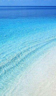 Stelida beach in Naxos Island, Greece