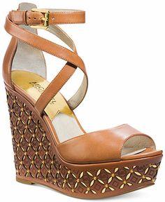 MICHAEL Michael Kors Gabriella Platform Wedges - MICHAEL Michael Kors - Shoes - Macy's