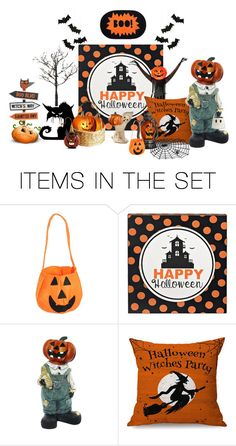 """""""Happy Halloween!"""" by carla-altum ❤ liked on Polyvore featuring art"""