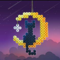 Melt Beads Patterns, Fuse Bead Patterns, Perler Patterns, Beading Patterns, Perler Bead Templates, Diy Perler Beads, Perler Bead Art, Hama Beads Halloween, Pearl Beads Pattern