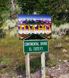 Idaho Coeur D'alene Idaho, My Own Private Idaho, Into The West, Idaho Falls, Continental Divide, Boise Idaho, Travel Memories, Wyoming, Great Places