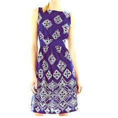 Joe Fresh Gathered Waist Dress Bundle Gathered Waist Fits Size 8-10 (per Joe Fresh Sizing Chart)Chest 36 - 37.5 Waist 29 - 30.5 34 length Blue & Orange Joe Fresh Dresses