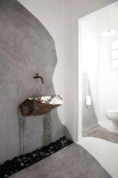 180 best natural stone in bathrooms images bathroom washroom bathtub rh pinterest com modern stone tile bathroom modern bathroom stone accent wall
