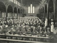 A day in the life of a Dublin workhouse. The workhouse was the most feared institution in century Dublin. Though it was to be avoided at all costs, harsh times drove many of the city's poor through its doors. Victorian Life, Victorian London, Vintage London, Old London, Victorian History, Tudor History, South London, London History, British History