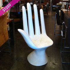 How fabulous is this hand chair?.. We offer a wide variety of furniture and accessories. We are located in the Dallas Design District. We can ship to any location in the US. visit us at www.againandagain.com  www.facebook.com/againdesign