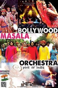Bollywood Masala Orchestra - Spirit of India. www.bollywoodmasalaorchestra.com
