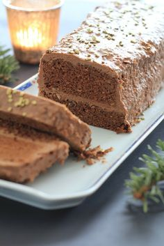 Bûche choco/croustillante express super facile au micro ondes Dessert Micro Onde, Chocolate Log, Log Cake, Christmas Desserts, Yummy Cakes, How To Make Cake, Nutella, Cupcake Cakes, Food Porn