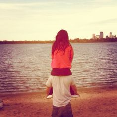 Me and my Husband lake Calhoun- no words for a beautiful relationship.