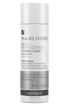 PAULA'S CHOICE Paula's Choice 'Skin Perfecting' 2% BHA Liquid available at #Nordstrom