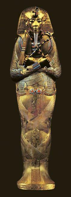Egyptian Art, Dynasty 18 (1550-1291 BC).Dynasty 18, Tutankhamen, 1347-1338 BC