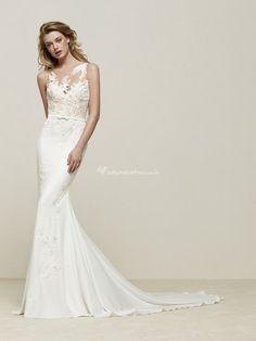 Veja esse vestido que encontrei no aplicativo de vestidos de Casamentos.com.br: