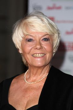 Wendy Richard (1943-2009) for her acting, particularly as the character Ms. Brahms in Are You Being Served?