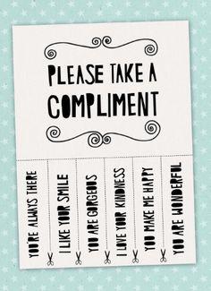 Kies je compliment!