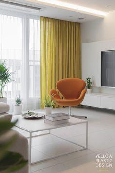 스웨그 넘치는 가족의_남양주 별내 효성 헤링턴코트 35평형 아파트 인테리어 [옐로플라스틱/yellowplastic/옐로우플라스틱] : 네이버 블로그 Accent Chairs, Living Room, Interior Design, Furniture, Home Decor, Style, Arquitetura, Home Deco, Living Room Ideas